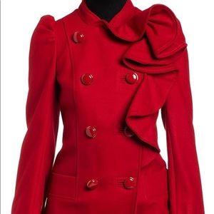 French Connection Blaze Frill Coat